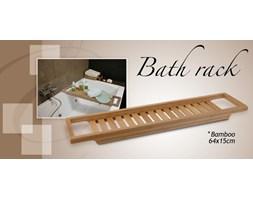 Półka łazienkowa na wannę BAMBOO SPA