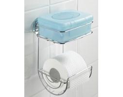 Uchwyt na papier toaletowy, Turbo-Loc, 2 poziomy - stal chromowana
