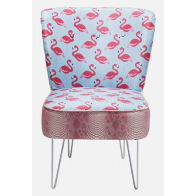 Fotel Florida Flamingo Kare Design 79714