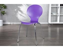Krzesło Shape purpurowe
