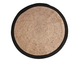 HK Living ::Okrągły dywan czarny