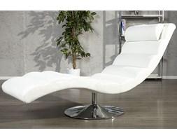Leżanka Relax - biała