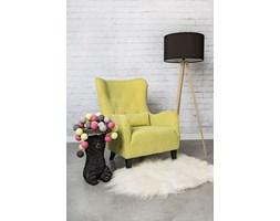 Fotel klasyczny Trees limonkowy