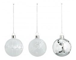Bombki świąteczne - 3 dekory