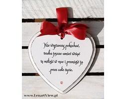 Nie wystarczy pokochać, trzeba jeszcze umieć wziąć tę miłość w ręce i przenieść ją przez całe życie