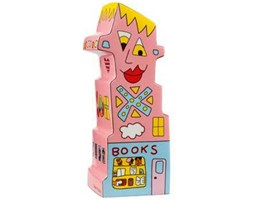 Podpórka Books To My Right 23cm James Rizzi Goebel 26-100-62-8