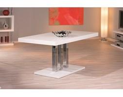 Stół Unique 160x90 biały MDF/chrom