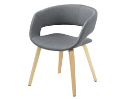 Krzesło Grace II, ciemnoszary, tkanina, drewno-Actona Company (0000060106)