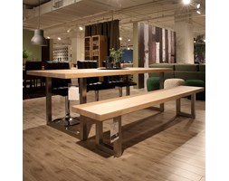Stół Arbol 200x90 cm, dąb, stal - Actona Company (H000012227)