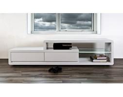 Stolik TV Screen Illuminato 180 cm, 2 szuflady, śnieżnobiały-Eran Actona Company (0000056765)