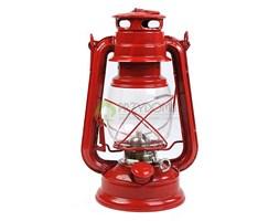 Lampa olejowa/naftowa 24cm czerwona