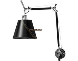 Lampa oprawa kinkiet PAOLA fI230*360+250mm 1xE27 CZARNA hurtownia led Premium Lux