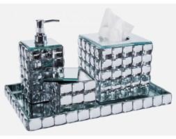 Zestaw Łazienkowy Diamonds srebrny Kare Design 30407