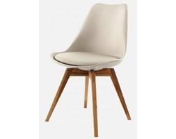 Krzesło Gina Bess szare nogi drewniane Tenzo GinaBess-Sz-D