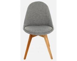 Krzesło Donna Bess szare nogi drewniane Tenzo DonnaBess-BE-D