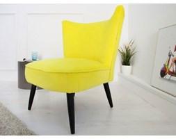 Invicta Interior Fotel Retro Sixties żółty - i35021