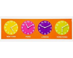 Zegar ścienny City Time Pop Kare Design 34621