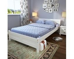 Łóżko sosnowe białe Calabria 140