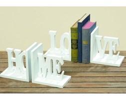Podpórki do książek Home nad Love