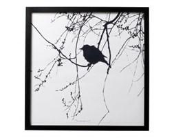 Plakat z ptakiem