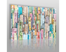 Między ścianami - nowoczesny obraz na płótnie