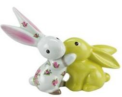 Figurka Bloom Bunny in Love 17cm Bunny de Luxe Goebel 66-842-12-1