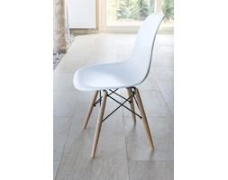 Nowoczesne krzesło jak Eames białe