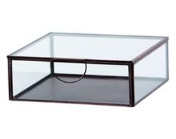 Szklany pojemnik Agape, 21 cm