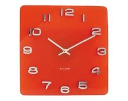 Zegar ścienny - Karlsson - Vintage czerwony