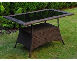 Stół ogrodowy TORINO 1,3 m kolor brązowy