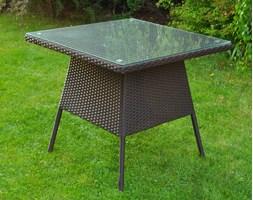 Stół ogrodowy VERONA kolor brązowy<br><b>Uwaga: produkt na wyczerpaniu</b>