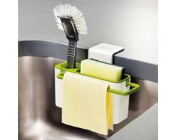 Stojak na środki czystości, biały/zielony