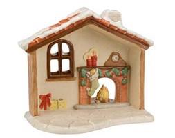 Figurka Santas House 24x20cm Goebel