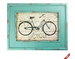 Obraz z rowerem w ramce - BICYCLES - zielony