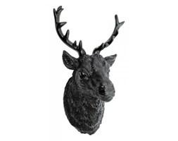 Dekoracyjna głowa - Poroże Jelenia 2 - czarne