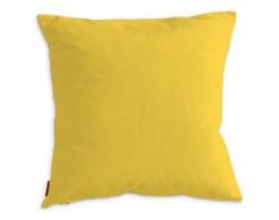 Dekoria Poszewka Kinga na poduszkę, żółty , 40 x 40 cm, Loneta