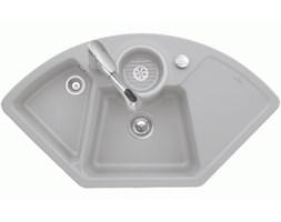 Villeroy & Boch Zlewy Kuchenne Zlew kuchenny Solo Corner 107,5x60cm, korek manualny - Grafitowy CeramicPlus 670801i4