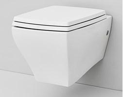 Artceram Jazz Miska WC wisząca o wymiarach 36x54 cm, w kolorze białym + deska sedesowa wolnoopadająca JZV001+JZA005