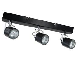 LOFT - Listwa z 3 lampami punktowymi Czarna