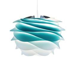 CARMINA - Lampa wisząca Tie&Dye Azurowy Śr.34cm + Kabel 2,1cm