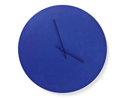 Zegar ścienny Menu Steel Wall Clock Ø 30 cm, niebieski