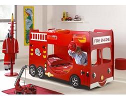 Łóżko dla dziecka Wóz Strażacki - łóżko piętrowe