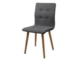 Krzesło Frida jasnoszara tkanina z ciemnoszarymi bokami Actona H000014095