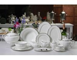 Zestaw obiadowy Deside Platinum dla 12 osób 49 el.