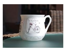 Kubek śląski 0,5l Różowy Rower