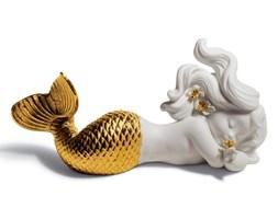 Morskie marzenie w złocie - Syrenka Re-Deco