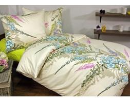 Pościel satynowa Tiffany Ecru 100% bawełny (160x200)