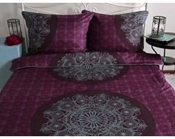 Pościel satynowa Noble Coronet Purple 100% bawełny (160x200)