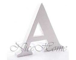Litera biała A