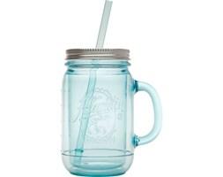 Kubek do zimnych napojów ze słomką Aladdin Mason 0,47 L błękitny - 10-01716-008